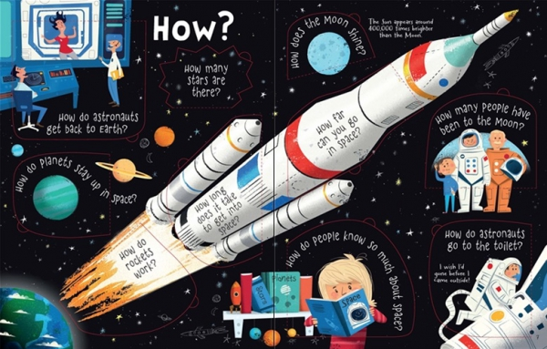 Lift-the-flap Questions and Answers about Space 3