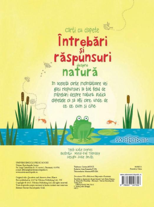 Intrebari si raspunsuri despre natura (Usborne) 6