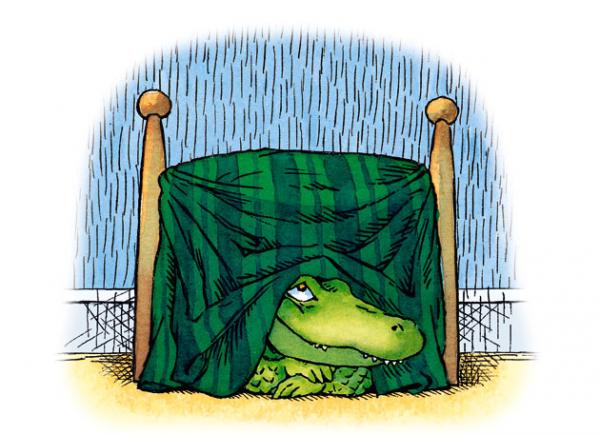 Am un crocodil sub pat 1
