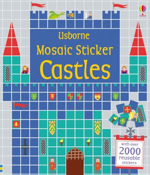 Mosaic sticker Castles 0