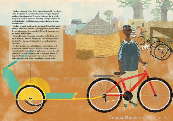 O bicicleta rosie 3