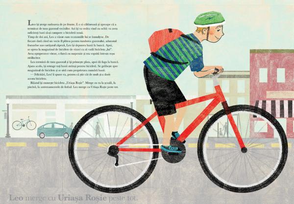 O bicicleta rosie 1
