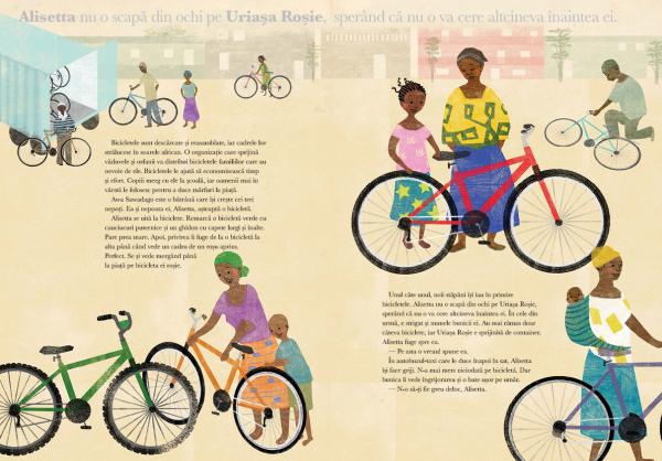 O bicicleta rosie 2