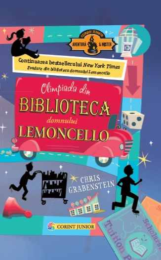 Olimpiada din biblioteca domnului Lemoncello (vol.2) 0