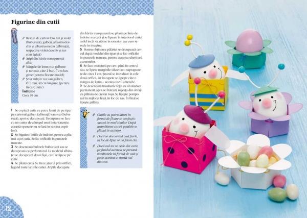 Ornamente hazlii de Paști- Idei creative Nr. 108 1