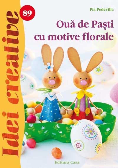 Ouă de Paști cu motive florale nr. 89 0