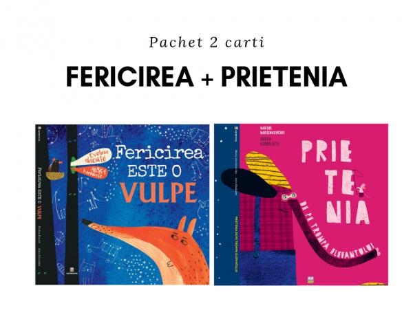 Pachet 2 cărți: Fericirea + Prietenia 0