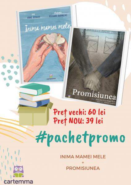 Pachet 2 cărți: Promisiunea & Inima mamei mele 2