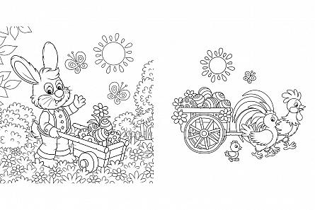 Paste fericit! - Carte de colorat [3]