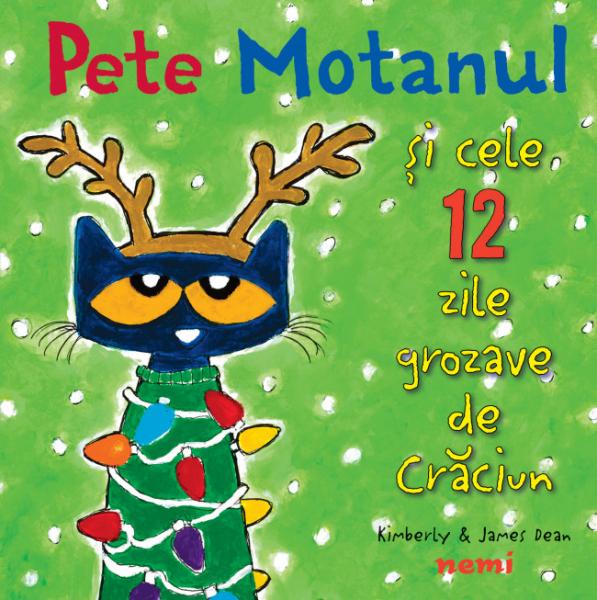 Pachet Pete Motanul de Craciun 2