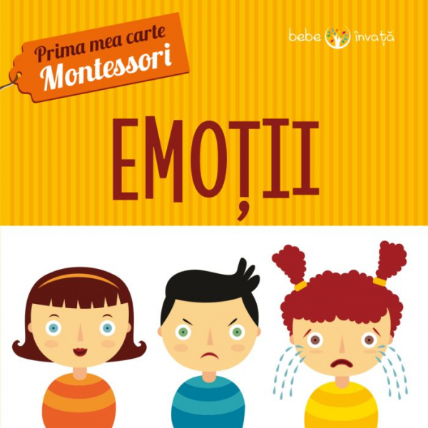 Emoții. Prima mea carte Montessori 0