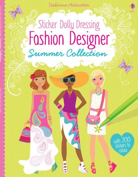 Sticker Dolly Dressing - Fashion designer summer collection 0