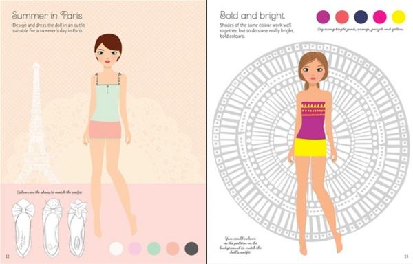 Sticker Dolly Dressing - Fashion designer summer collection 1
