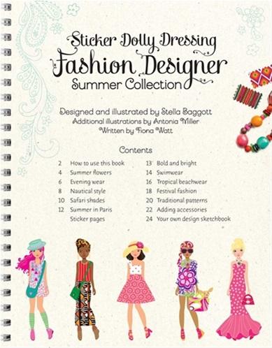 Sticker Dolly Dressing - Fashion designer summer collection 3