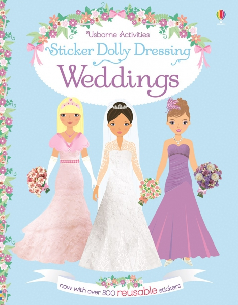 Sticker dolly dressing - Weddings 0
