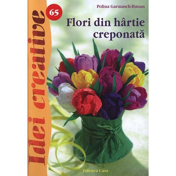 Flori din hartie creponata - idei creative 65 0