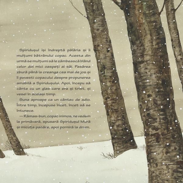 Spiridusul Mura si mierla din miezul iernii 3