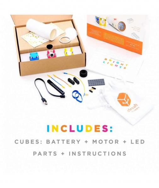 Circuit Cubes - Kit Lanternă 2