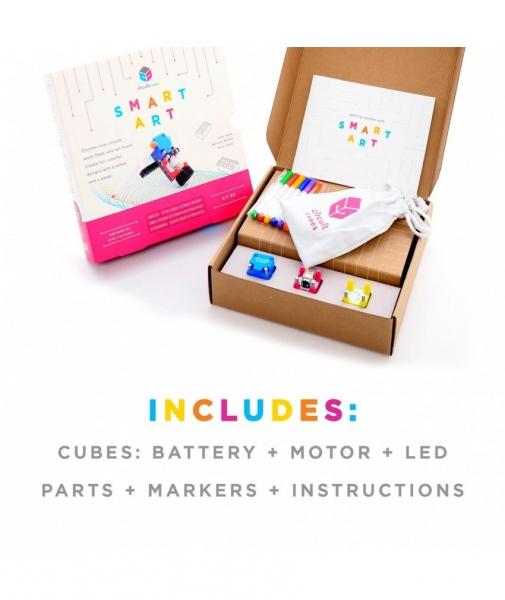 Circuit Cubes - Kit Artă Inteligentă 2