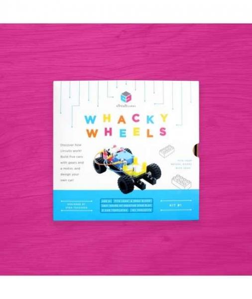 Circuit Cubes - Kit Mașină Whacky cu Roți 0