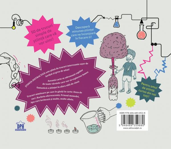 Stiinta distractiva-50 de activități fantastice pentru copiii de toate vârstele 1