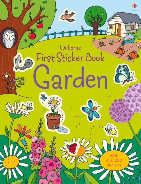First Sticker Book Garden 0