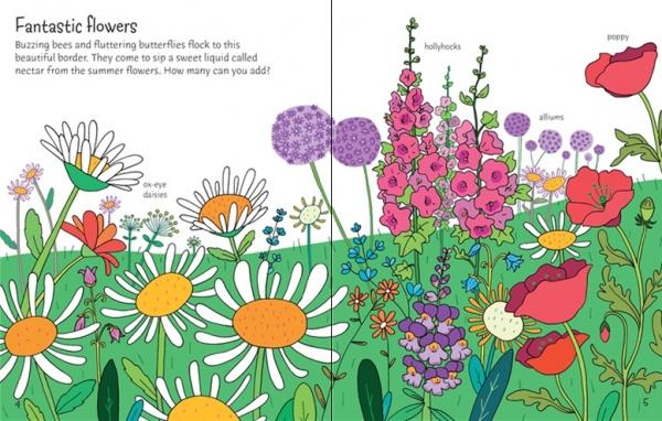 First Sticker Book Garden 3
