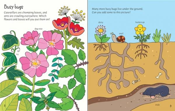 First Sticker Book Garden 2