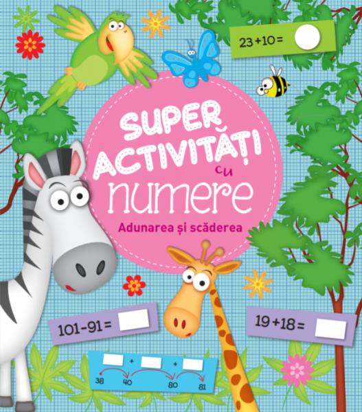 Super activități cu numere. Adunarea și scăderea 0