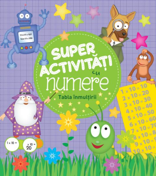 Super activități cu numere. Tabla înmulțirii 0