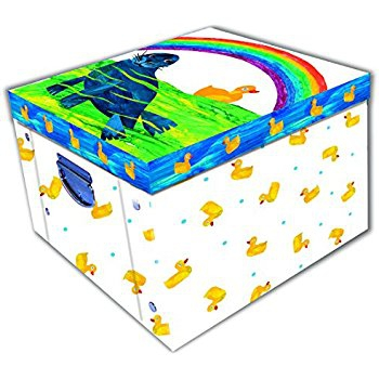 Ten Little Ducks Collapsible Storage Box 0