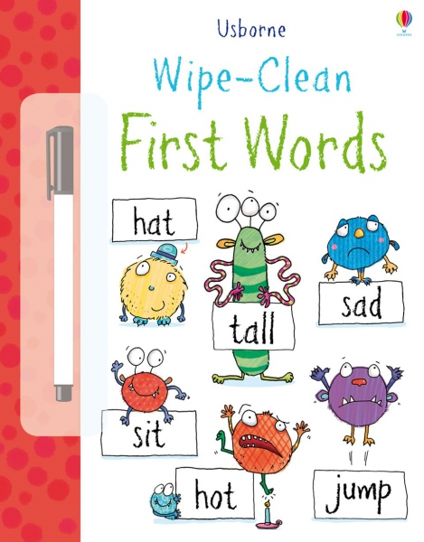 Wipe-clean first words 0