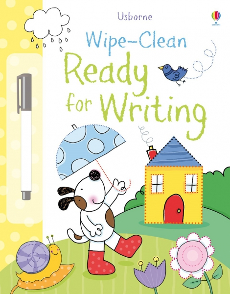 Wipe-clean ready for writing 0