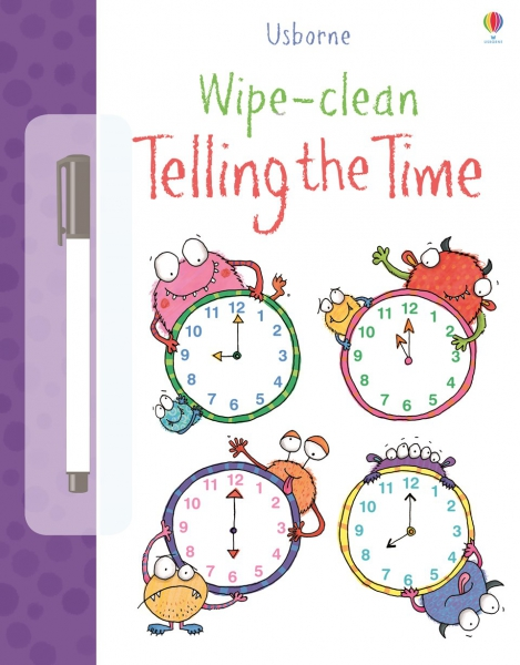 Wipe-clean telling the time 0
