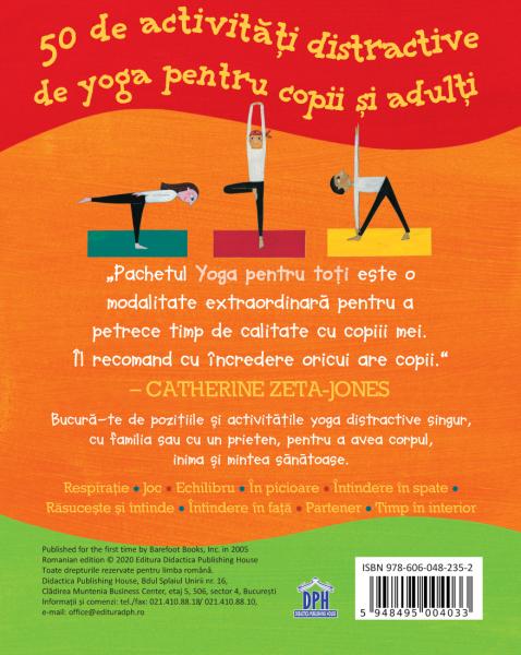 YOGA PENTRU TOTI-50 de activitati distractive de yoga pentru copii si adulti 1
