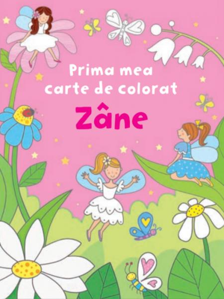 Zane. Prima mea carte de colorat 0
