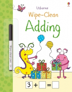 Wipe-clean adding0