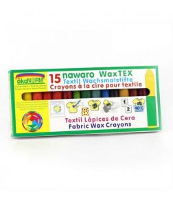 15 Creioane Cerate Naturale Pentru Textile ÖkoNORM WAX Tex Nawaro1