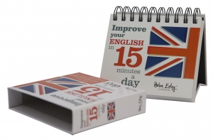 "Calendarul ""Improve your english in 15 minutes a day""0"