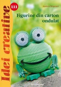 Figurine din carton ondulat - Idei Creative Nr. 1110