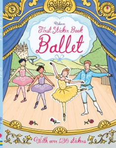 First Sticker Book Ballet0