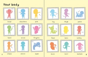 First Sticker Book Your body4