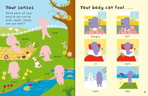 First Sticker Book Your body3