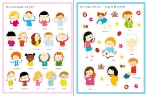 First Sticker Book Your body1