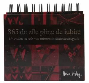 """Calendarul """"365 de zile pline de iubire""""0"""
