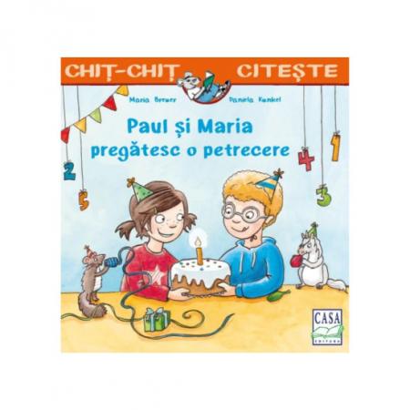 Paul și Maria pregătesc o petrecere [0]