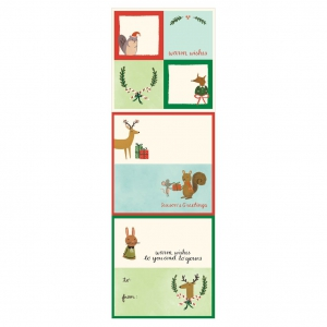 Holiday Forest Friends Label2
