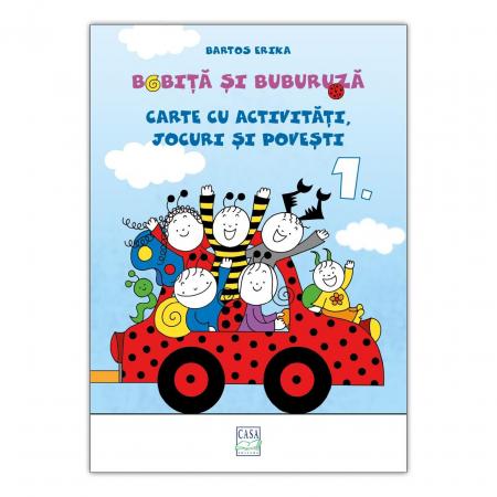 Bobiță și Buburuză - Carte cu activități, jocuri și povești nr. 1 [0]