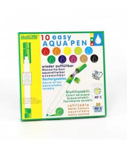10 Carioci ECO ÖkoNORM Easy Aqua Ce Se Pot Spăla Ușor, Reîncărcabile, Pentru Copii Mici0