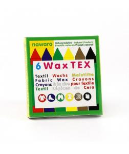 6 Creioane Cerate Naturale Pentru Textile ÖkoNORM WAX Tex Nawaro0